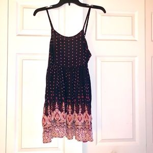 Forever21 tunic bohemian top